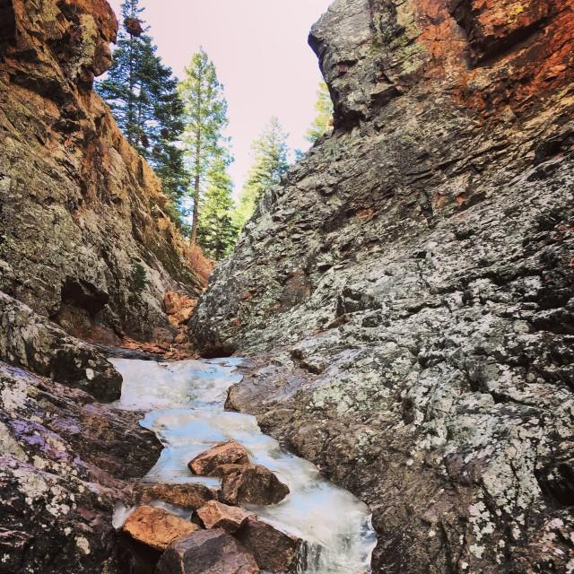 """Devils Canyon"" stock image"