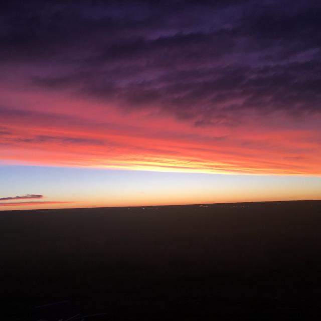 """""""Wicked Sunrise"""" stock image"""