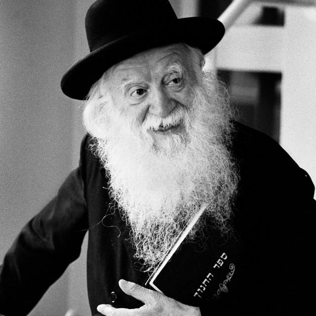 """""""Manchester Rosh Yeshiva"""" stock image"""