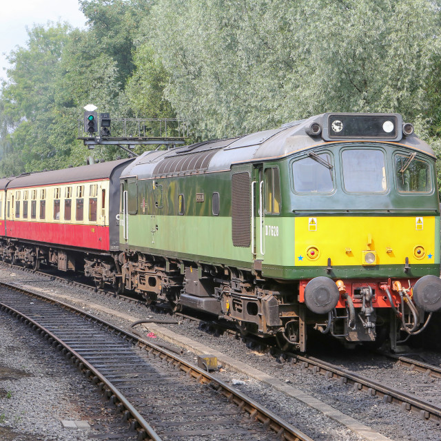 """""""D7628 at Pickering"""" stock image"""