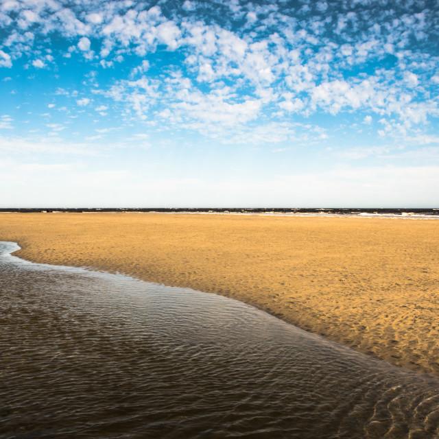 """Oregon Inlet Beach"" stock image"