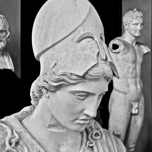"""Warehouse of Villa Medici"" stock image"