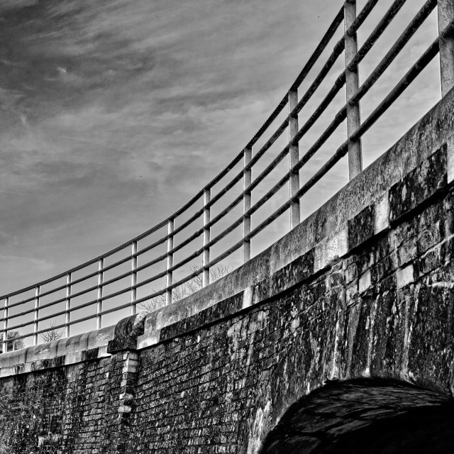 """Bath Road Canal Bridge - Devizes, Wiltshire, England"" stock image"