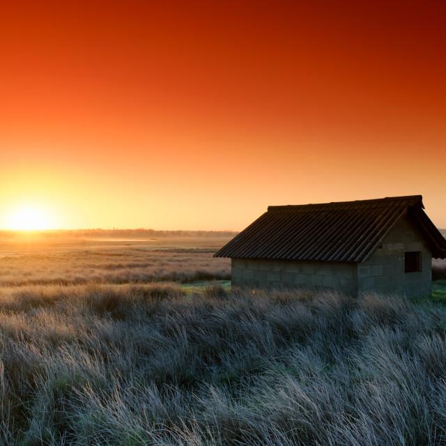 """""""Havre de la Vanlee sunrise"""" stock image"""