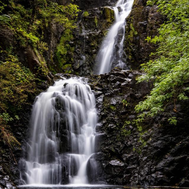 """Falls of Rha"" stock image"
