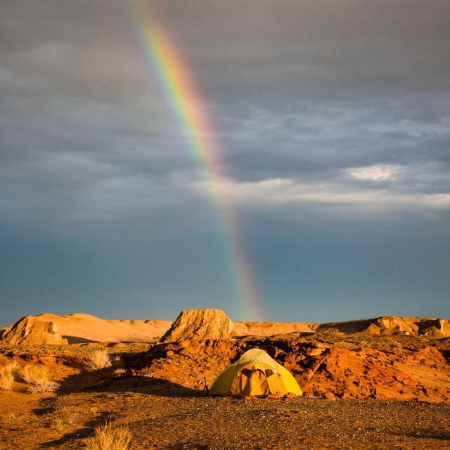 """""""End of the rainbow"""" stock image"""