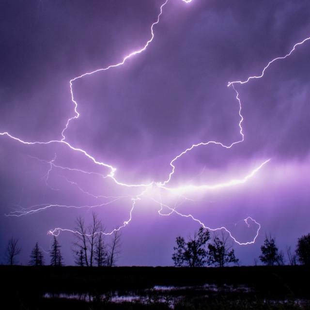 """""""God of Thunder"""" stock image"""