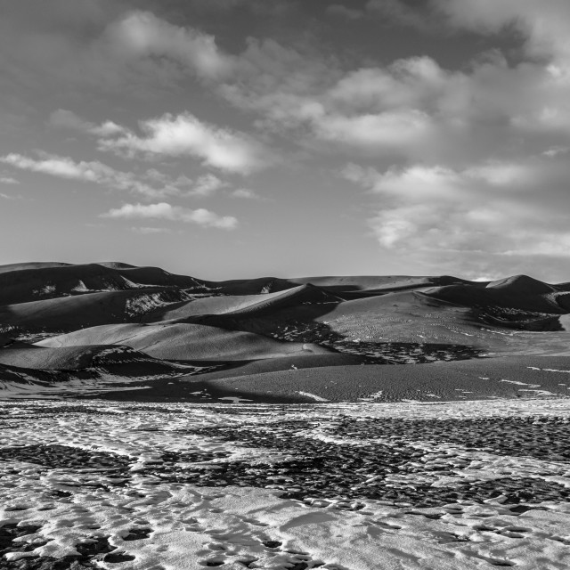 """""""Great Sand Dunes National Park 1"""" stock image"""