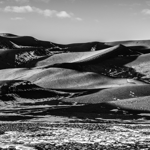 """""""Great Sand Dunes National Park 2"""" stock image"""