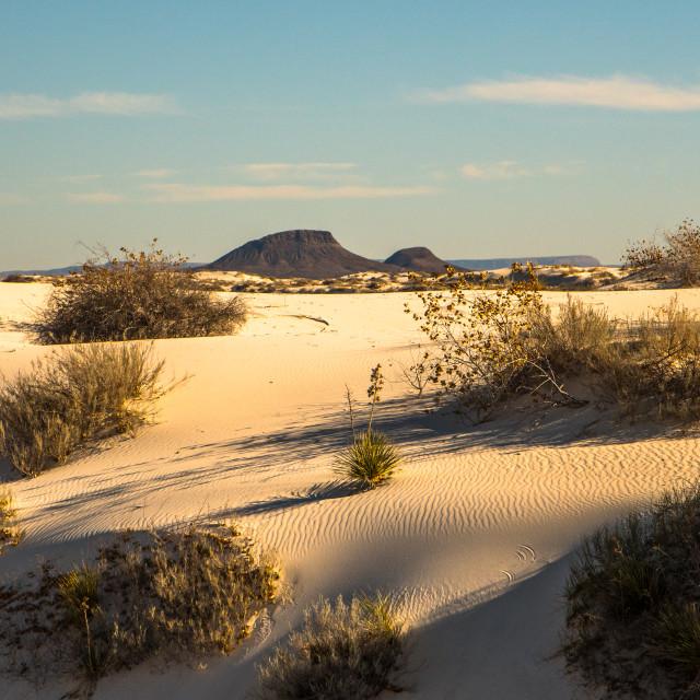 """White Sands National Park"" stock image"