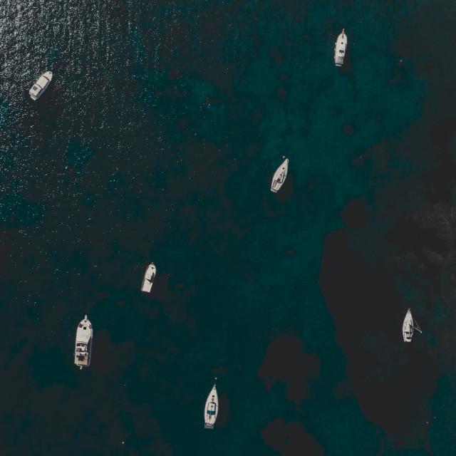 """Sea Boats"" stock image"