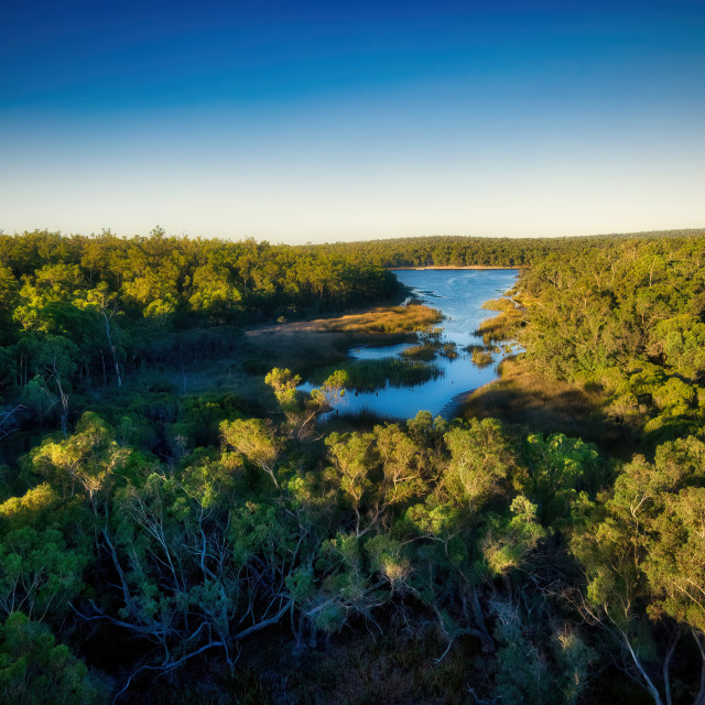 """Lake Leschenaultia 2"" stock image"