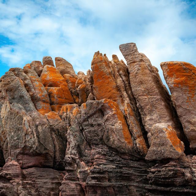 """Gracetown Rocks"" stock image"
