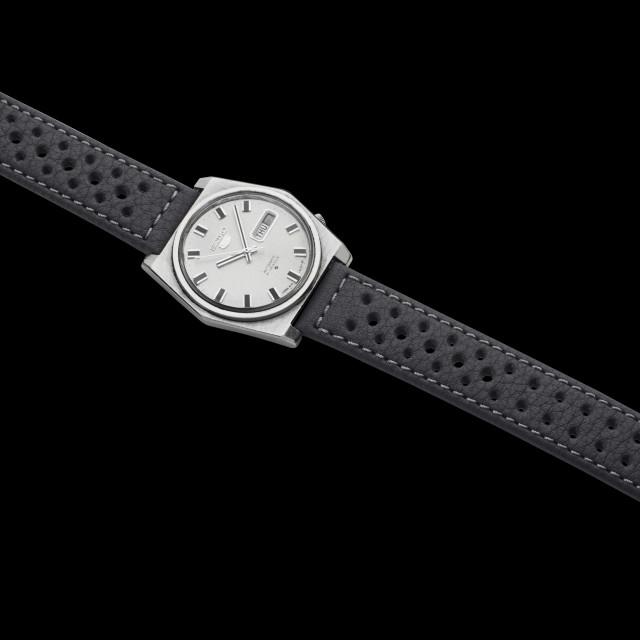 """1970s Seiko automatic watch"" stock image"