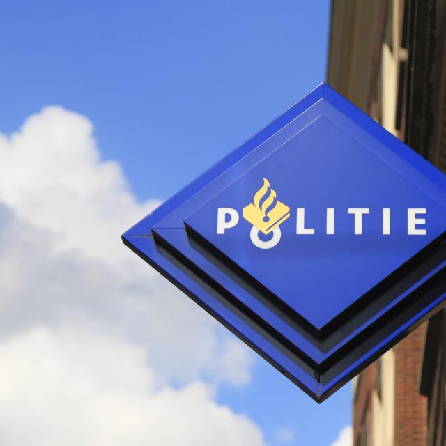 """Dutch police logo emblem"" stock image"