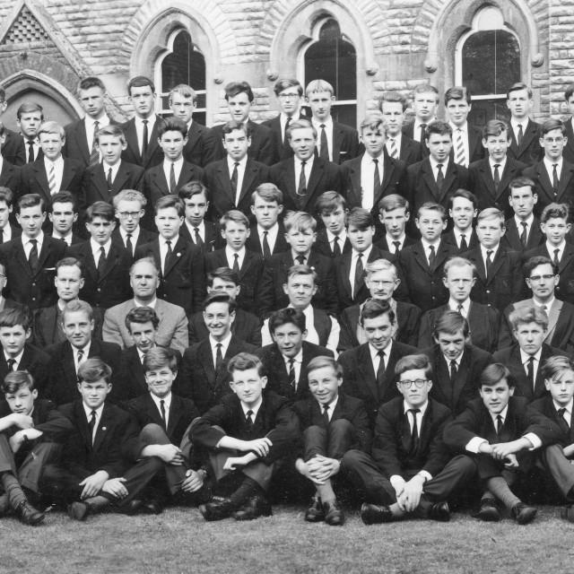 """Stamford School 1962 (D)"" stock image"