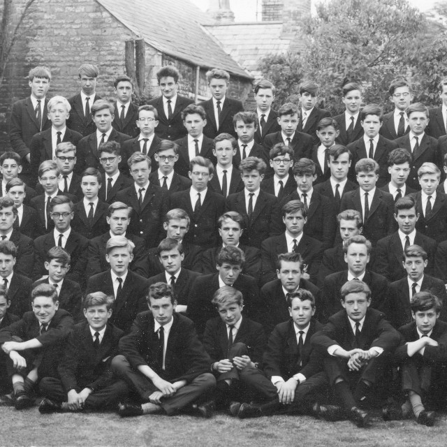"""Stamford School 1962 (A)"" stock image"