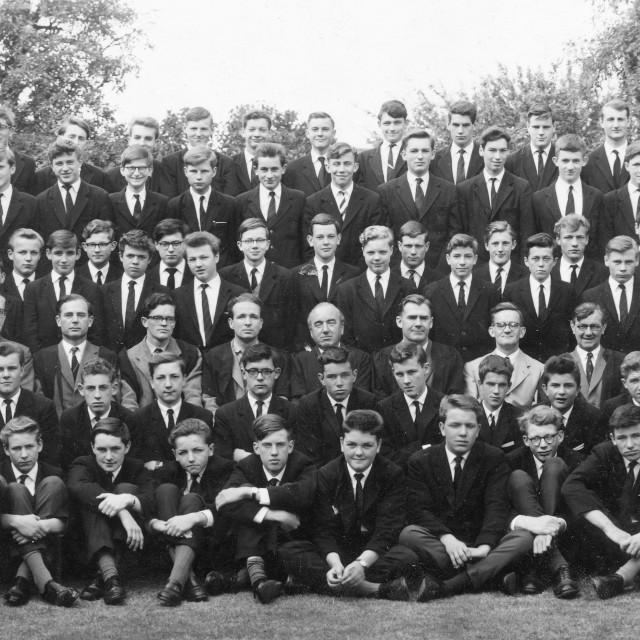 """Stamford School 1962 (B)"" stock image"