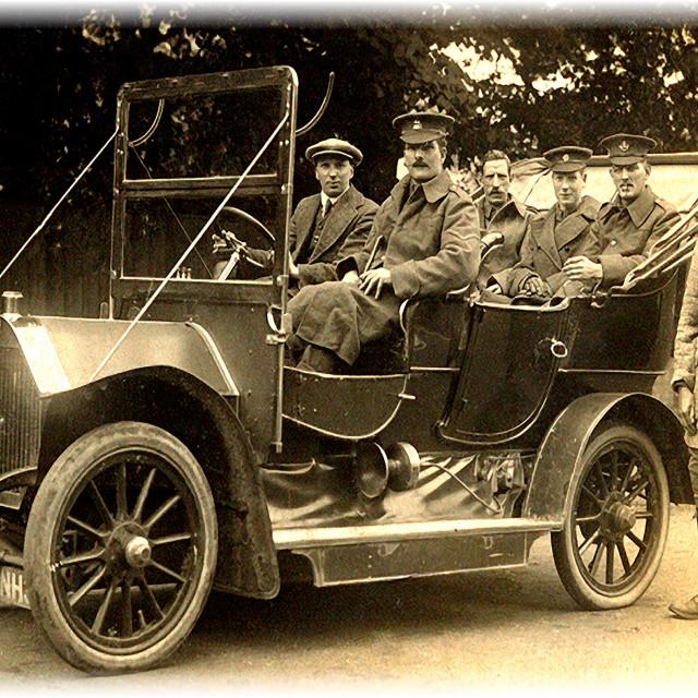 """1915 Staff Car"" stock image"