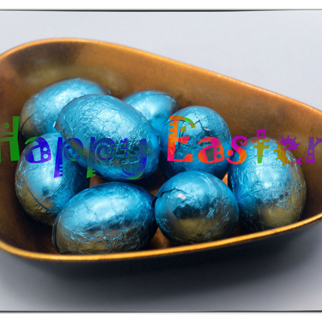 """""""Easter card"""" stock image"""