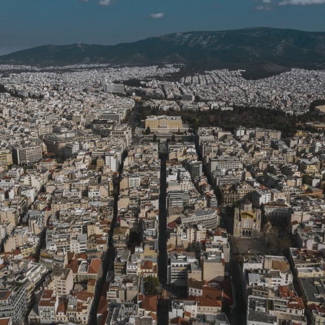 """Athens Syntagma Square"" stock image"