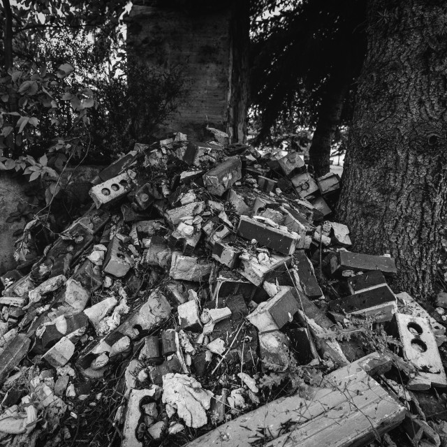 """Rubble"" stock image"