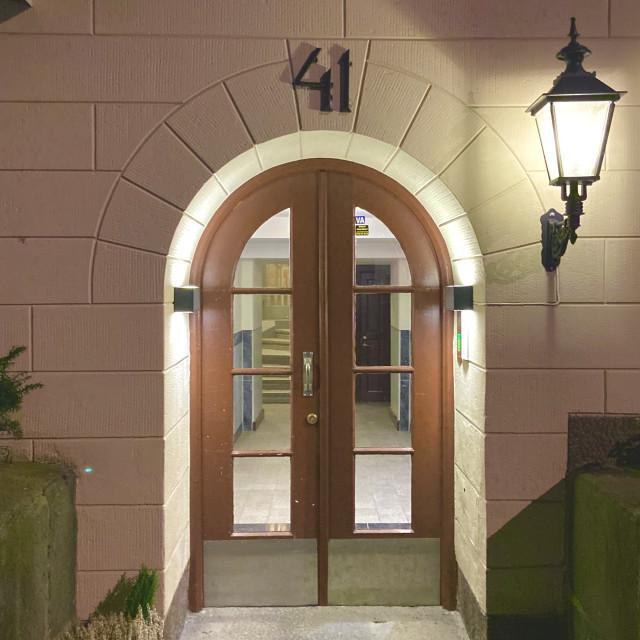 """""""Doors Of vasastan"""" stock image"""
