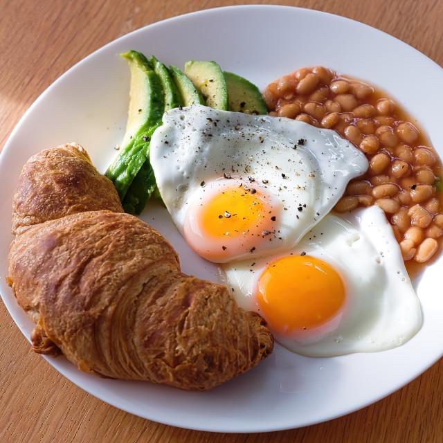 """Healthy breakfast"" stock image"