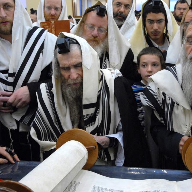 """""""Rav Steinman Aliyah 4"""" stock image"""