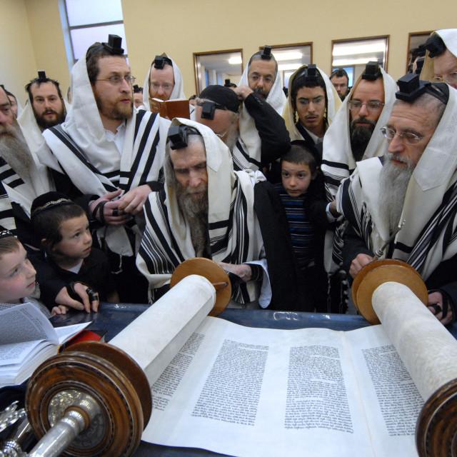 """""""Rav Steinman Aliyah 3"""" stock image"""