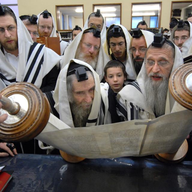 """""""Rav Steinman Aliyah 6"""" stock image"""
