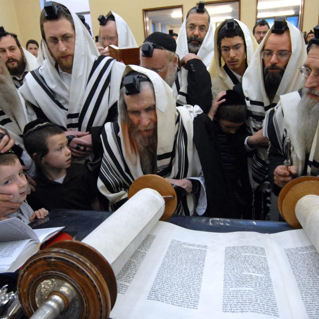 """""""Rav Steinman Aliyah 2"""" stock image"""