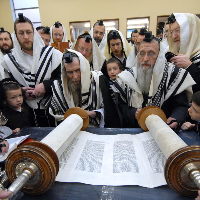 """""""Rav Steinman Aliyah 5"""" stock image"""