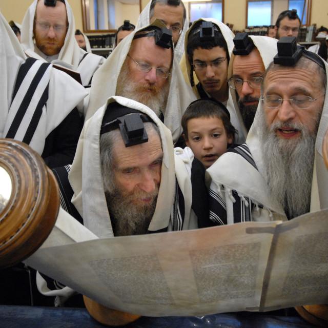 """""""Rav Steinman Aliyah 8"""" stock image"""