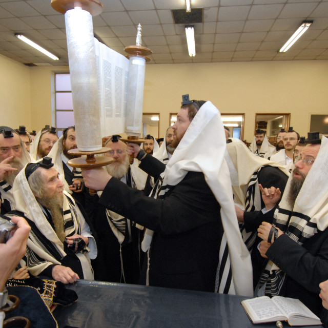 """""""Rav Steinman Aliyah 11"""" stock image"""