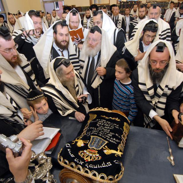 """""""Rav Steinman Aliyah 10"""" stock image"""