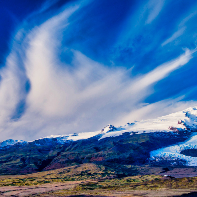 """Big Sky in Iceland"" stock image"