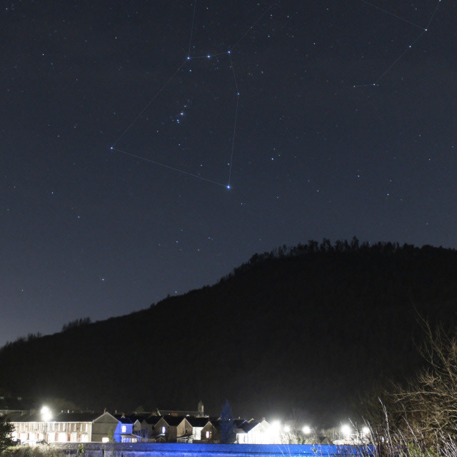 """""""Orion and the Foel"""" stock image"""