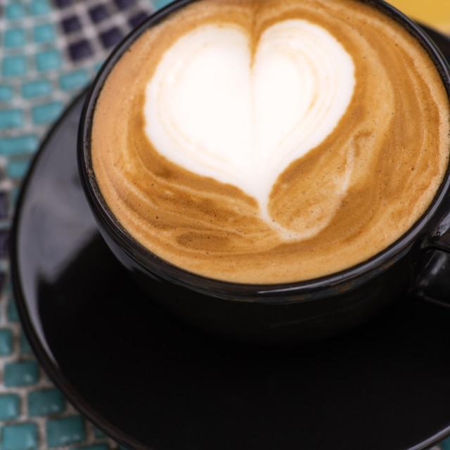 """Coffee & Love"" stock image"
