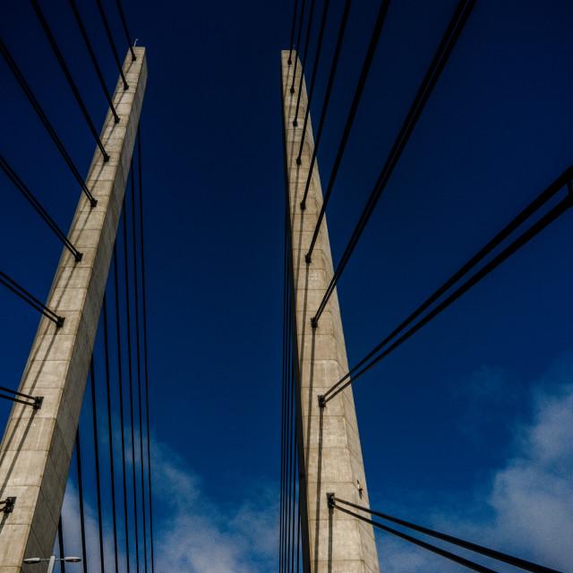 """Øresund bridge"" stock image"