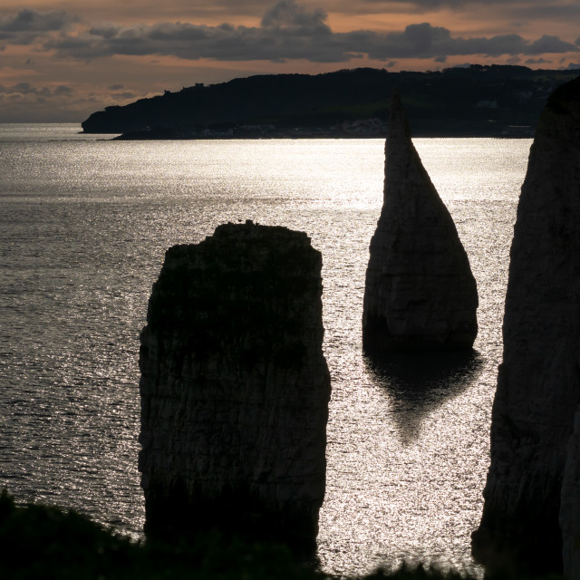"""Old Harry Rocks"" stock image"