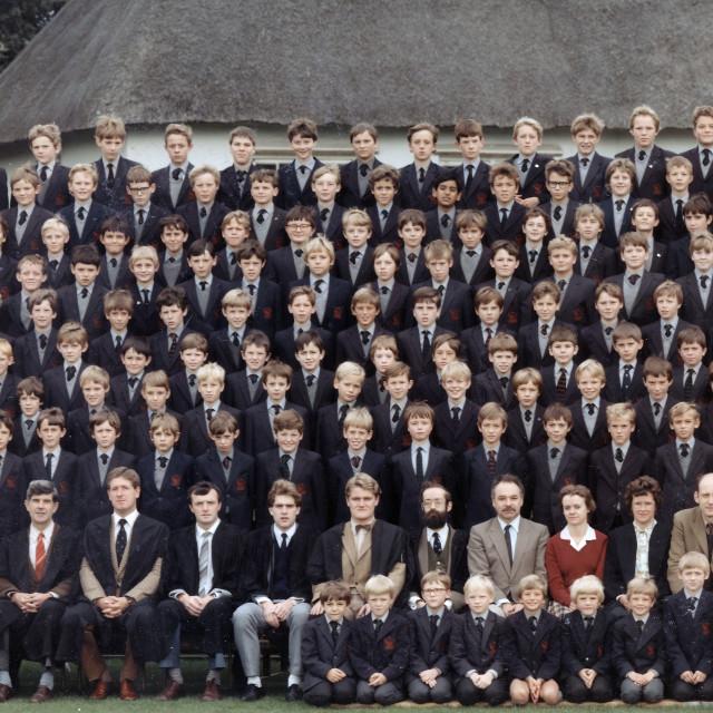 """Stamford Junior School - September 1984 (A)"" stock image"