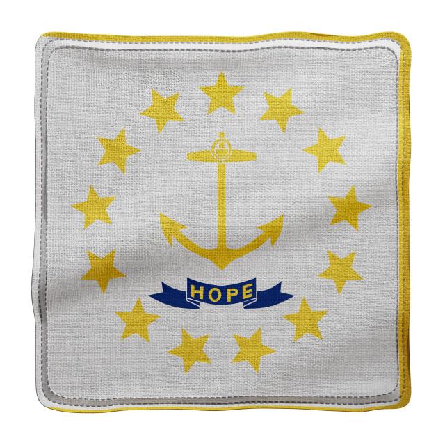 """Rhode Island State flag"" stock image"