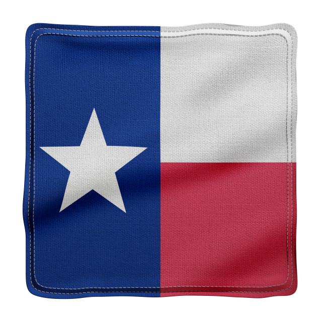 """Texas State flag"" stock image"