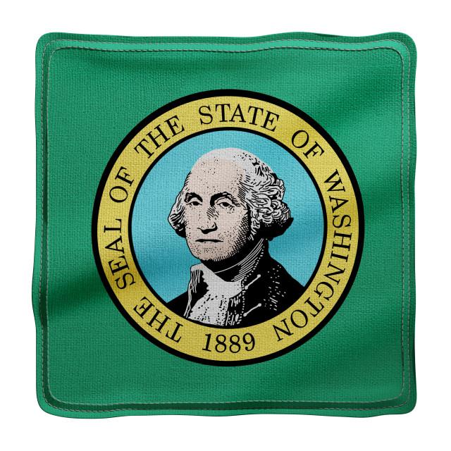 """""""Washington State flag"""" stock image"""