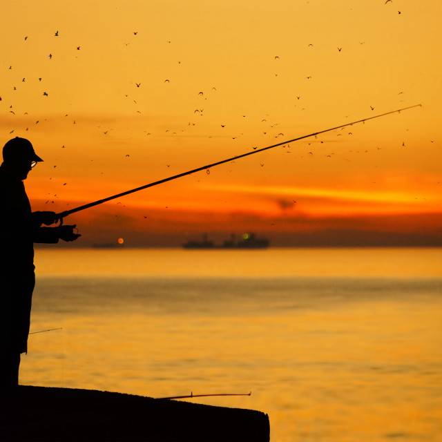 """""""Fisher"""" stock image"""