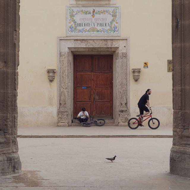 """""""The door of knowledge"""" stock image"""