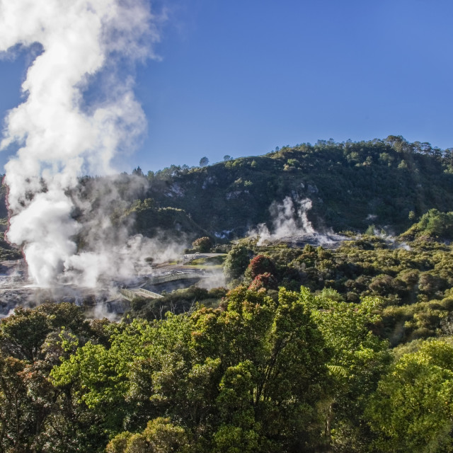 """Rotorua"" stock image"