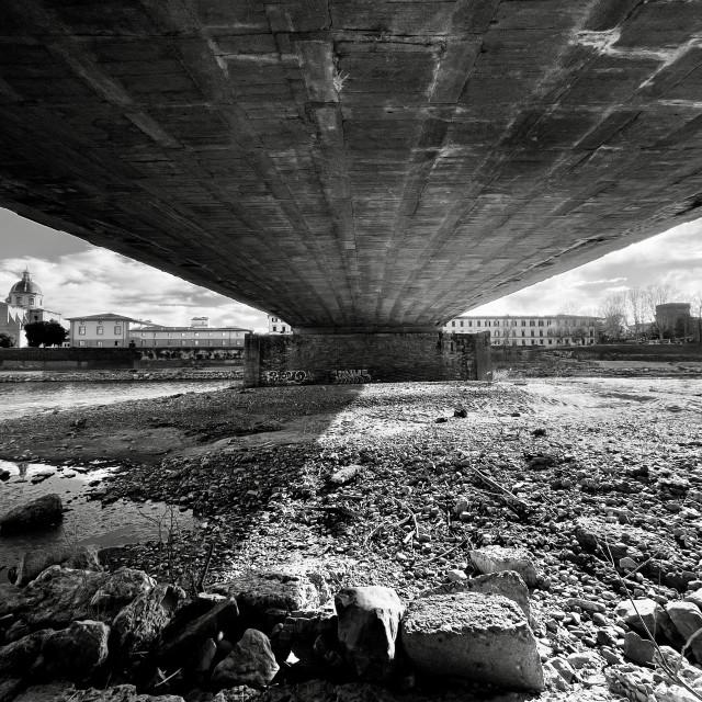 """Ponte Vespucci, Florence."" stock image"