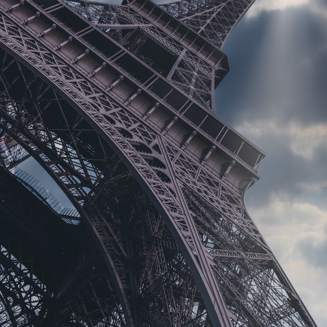 """Eiffel tower Paris"" stock image"